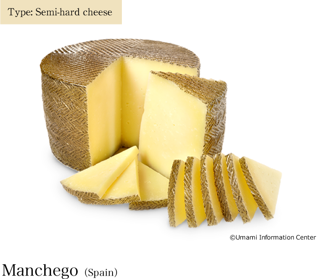Type: Semi-hard cheese / Manchego(Spain)