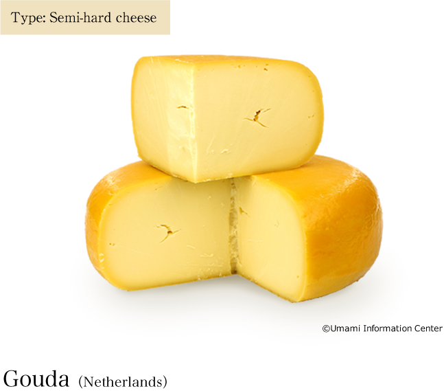 Type: Semi-hard cheese / Gouda(Netherlands)