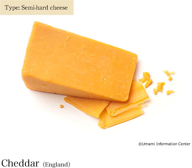 Type: Semi-hard cheese / Cheddar(England)