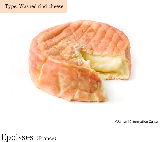 Type: Washed-rind cheese / Epoisses(France)