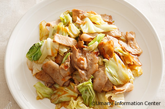 Fried Pork and Cabbage with Chili Oil