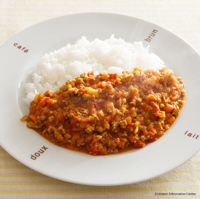 Dried Curry and Rice