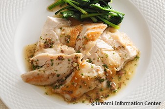 Chicken Breast Sautee with Anchovy Butter Source