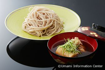 3. Takeshi KAWANISHI, Chief Exective Officer & Chef of Hisago Zushi : SOBA, BUCKWHEAT NOODLES SERVED WITH SCALLION NANBAN SAUCE