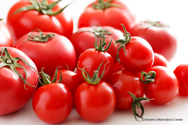 The worldwide permeation of the umami taste of tomatoes