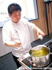 Chef Koji Shimomura of Edition Koji Shimomura (Tokyo)
