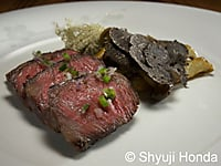 Chilean Wagyu Beef with Black Truffles and a variety of mushrooms
