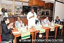 Prof. Abiodun Sanni (Standing)