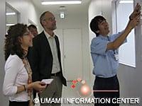 Dr. McGee with Dr. Kuroda(R) and Dr. San Gabriel (L)