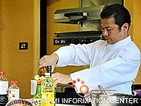 Demonstration by Chef Tadadshi Yabe