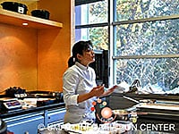 Demonstration by Chef Keiko Nagae