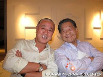 Matsuhisa (left) & Yoshihiro Murata (right)