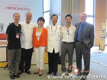 (from left to right)Hideki Matsuhisa, NOBU(Nobuyuki Matsuhisa), Kumiko Ninomiya, Yoshihiro Murata, Daisuke Hayashi, Gary Beauchamp