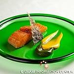 YAKIMONO (Salmon marinated miso, smoked and grilled)
