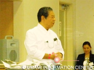 Demonstration by Chef Yoshihiro Murata