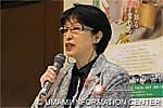 Ms. Chieko Sakamoto, chairman of the Hana Cooking College