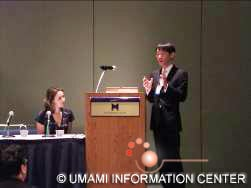 Lecture by Yoshida, UIC NY Branch